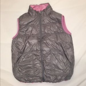 Girls reversible vest